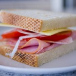 Ham, Cheese & Tomato