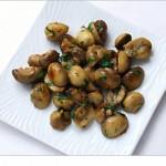 Sauteed mushrooms with garlic